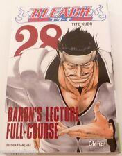 Manga BLEACH tome 28 Baron's lecture full course Glénat éditions en Français TBE