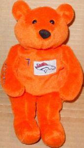SALVINO'S Bammers JOHN ELWAY #07 PROMO Teddy BEAR + COA Football Promotion PLUSH