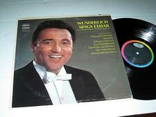 FRITZ WUNDERLICH Sings Lehar & Others Masters Viennese Operetta CAPITOL NM/NM-