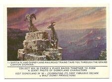 1965 Donruss Disneyland #1