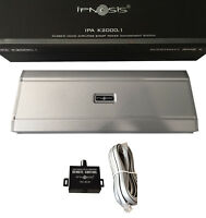 IPNOSIS IPA K2000.1 AMPLIFICATORE DIGITALE MONO SPL > 2000W RMS 1ohm + REMOTE
