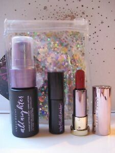 URBAN DECAY Travel Set TROUBLEMAKER Mascara + ALL NIGHTER Spray + VICE Lipstick