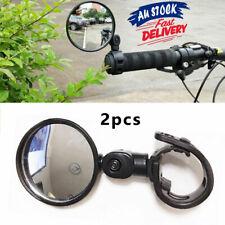 2x360° View Bike Mirror Safety Rearview Handlebar Bicycle Flexible Cycling Rear