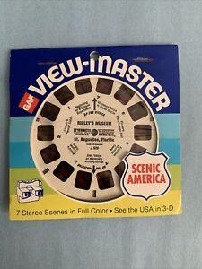 Vintage Viewmaster Reel~Ripleys Museum~In Original Packaging.