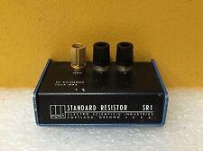 ESI / Tegam SR1, 10 Kilohms, 10 mA Max, 1000 mW Max, Standard Resistor for Cal