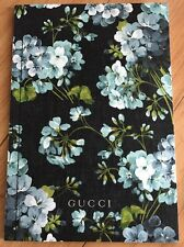 Auth Gucci GG Supreme With Blue Blooms Floral Handbag Bag Purse Fashion Catalog