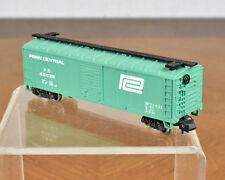 Atlas N Scale Train Penn Central 40' Metal Box Car 2381 Plastic