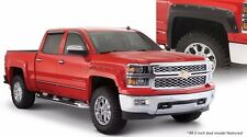 BUSHWACKER POCKET STYLE FENDER FLARES 40957-02, CHEVROLET 2500/3500 2015-2018