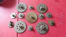 MECCANO 8 Silver 2/1 inch Sprocket Wheels  No 95/96