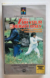 For Your Height Only (Weng Weng, 1981 Filipino Spy Classic) RAE Aussie VHS