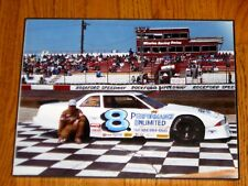 "VINTAGE MATT KENSETH 11"" X 14"" ROCKFORD SPEEDWAY PHOTO"
