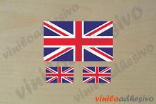 PEGATINA STICKER VINILO Bandera Reino Unido UK flag autocollant aufkleber