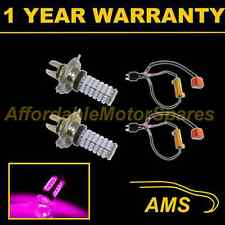2X H4 PINK 120 LED FRONT MAIN BEAM & DIPPED BEAM HEADLIGHT KIT XENON HM501002
