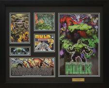 The Incredible Hulk Marvel Comics Limited Edition Framed Memorabilia (b)