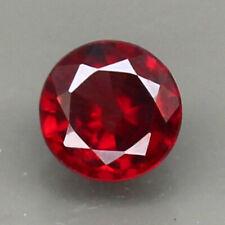 0.94ct.GEM PIECE PINK RED ZIRCON ROUND SHAPE NATURAL GEMSTONE UNHEATED