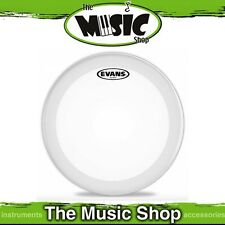 "New Evans 22"" EQ3 Frosted Bass Drum Skin - 22 Inch Drum Head - BD22GB3C"