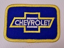 Vintage Chevrolet Embroidered Patch Woven Cloth Badge Sew-on Jacket Racing NOS