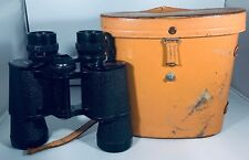 Vintage Omega Binoculars 7x35 Coated Lenses Leather Case