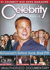 Celebrity News Reels - Hollywood's Hottest Hunk Brad Pitt - NEW DVD