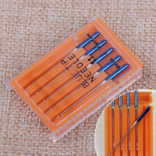 5pcs Steel Blue Tip Needle Size 11 fit for Janome Sewing Machine.