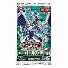YuGiOh Busta Bustina Booster Codice del Duellante italiano Yu-Gi-Oh Konami