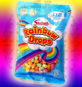 Swizzels Matlow Rainbow Drops 32g, Retro Sweets, Select Your Qty 8,12,16, 24