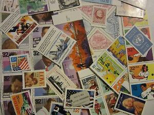 """MINT US Stamp Lots of """"50"""" all different MNH 32 to 34 CENT COMMEMORATIVE"""