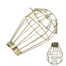 1pc Iron Wire Bulb Guards Clamp Metal Lamp Cage Retro Trouble Light Parts
