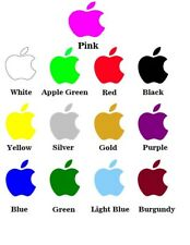 3 x Apple Logo Sticker Decal for iPhone, ipod , Replacement Decal N01