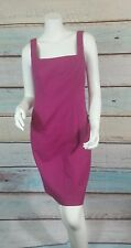 T TAHARI Pink Cocktail Evening Career Sheath Dress Size 4