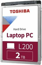 Toshiba HDWL120XZSTA L200 2TB Laptop PC Internal Hard Drive 5400 RPM SATA 6Gb/s