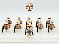 Star Wars Commander Cody 212th Clones Army Set 11 Minifigures Lot - USA SELLER