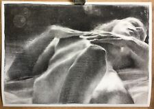 Charcoal artwork on A3 (42cm/29.7cm) paper