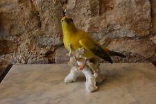 sehr große ENS Porzellan Figur Vogel in Top Zustand