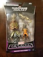 Marvel Legends Infinite Series ROCKET RACCOON - Guardians of the Galaxy - Groot