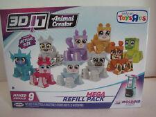 3D It Animal Creator Mega Refill Pack 9 Animals Molding Toy R Us