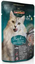 Leonardo Fisch & Shrimps 16 x 85g Frischebeutel Premium Katzenfutter