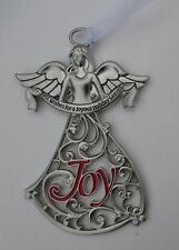 t Best Wishes for a joyous Season joy Christmas GUARDIAN Angel ORNAMENT Ganz