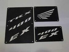 Honda TRX 400 EX 400EX Fender Warning Tags Black /NO decal