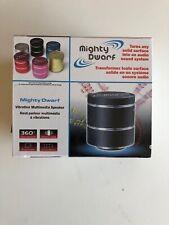 NEW! Mighty Dwarf 5 Watt Vibration Mutlimedia Portable Sound Speaker -Black
