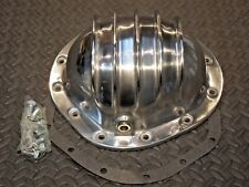 REAR END DIFFERENTIAL POLISHED ALUMINUM COVER 8.875 GM CHEVY 12 BOLT TRUCK