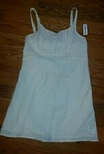 Women's Small Old Navy white/cream color sundress NWT