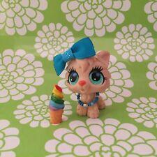 Details about  /Authentic Littlest Pet Shop Lps Timberwolf 2778 Green Eyes Wolf Dog Orange Cream