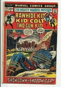 Mighty Marvel Western #20 - Rawhide Kid - Kid Colt - Two-Gun Kid - VG 4.0