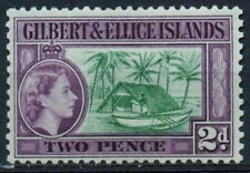 Mint Hinged Postage Gilbert & Ellice Stamps (Pre-1971)