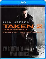 TAKEN 2 - UNRATED & THEATRICAL *NEW BLU-RAY + DVD*
