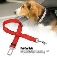 Adjustable Pet Dog Cat Reflective Elastic Car Safety Belt Harness Leash Collar