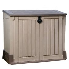 Keter Store-It-Out Midi 30 cu. Ft. Horizontal Patio Outdoor/Indoor Storage Shed