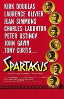 KUBRICK/'S SPARTACUS movie poster KIRK DOUGLAS LAURENCE OLIVIER epic 24x36