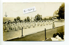PM Fort Wayne IN Indiana RPPC real photo 1910 women soldiers drilling, rifles